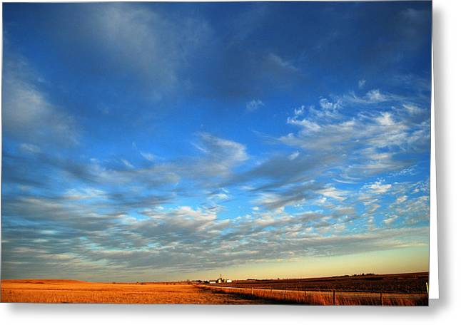 Us Open Photographs Greeting Cards - Open Spaces Greeting Card by Pamela Peters