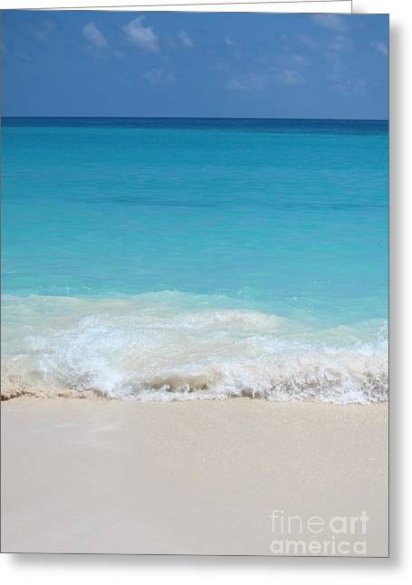 Cancun Greeting Cards - Open Waters Greeting Card by Margie Hurwich