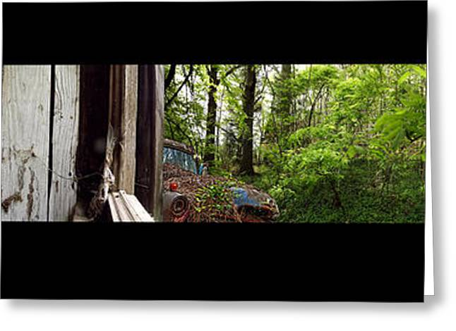 Rusted Cars Greeting Cards - Open Window Greeting Card by Richard Erickson