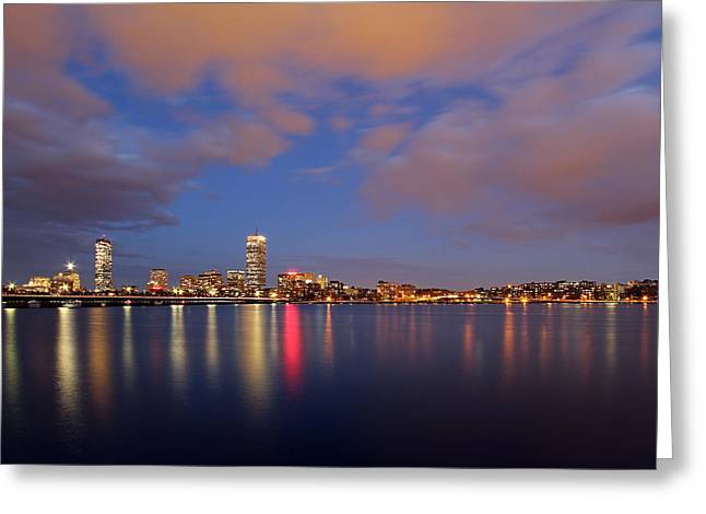 Boston Pictures Greeting Cards - Opening Night Greeting Card by Juergen Roth