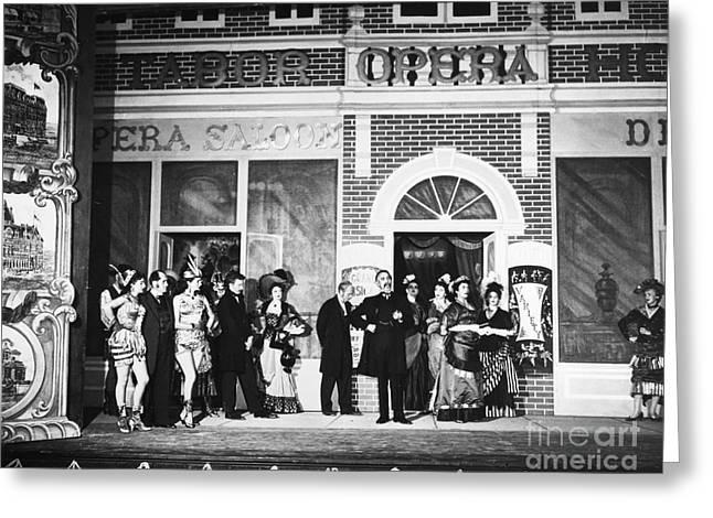 Opera: Baby Doe, 1956 Greeting Card by Granger