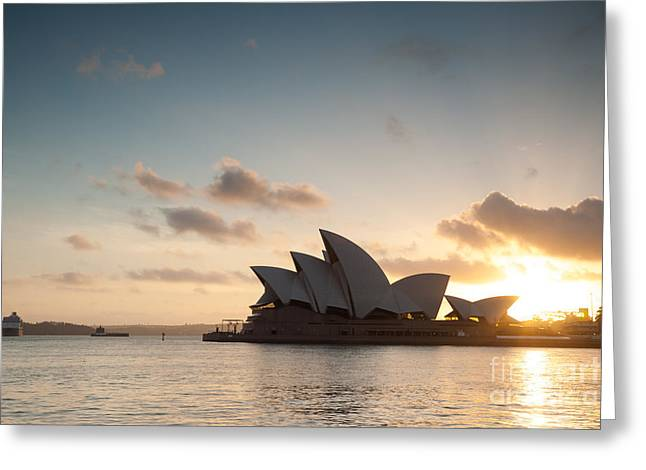 Australia - Australasia Greeting Cards - Opera house - Sydney Greeting Card by Matteo Colombo