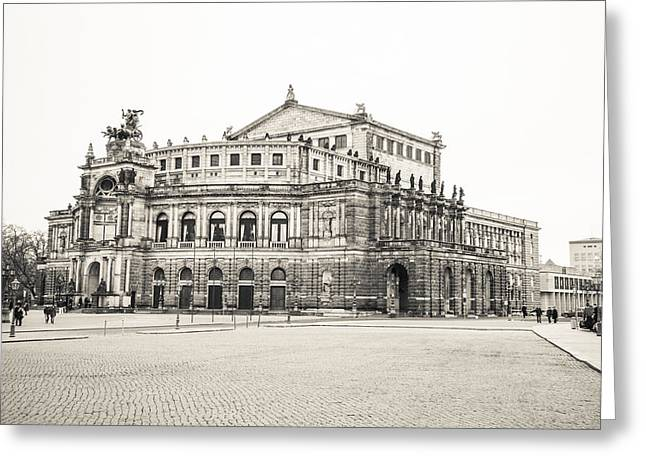 Barock Greeting Cards - Opera in Dresden Greeting Card by Maria Conceicao Pires