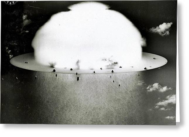 Operation Crossroads Greeting Card by Benjamin Yeager