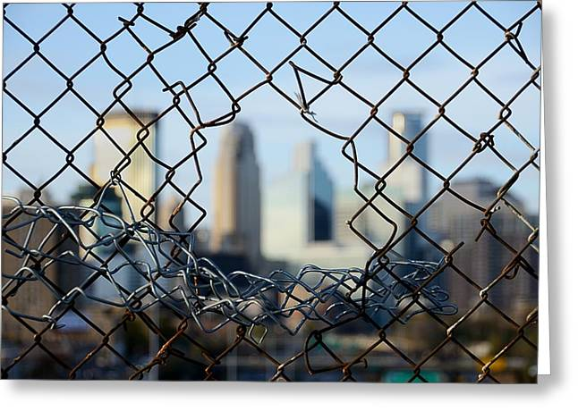 Barriers Greeting Cards - Opportunity Greeting Card by Jim Hughes