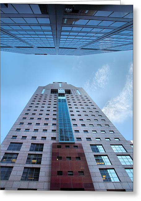 Architecture Metal Prints Greeting Cards - Opposites Attract Greeting Card by Steven Ainsworth