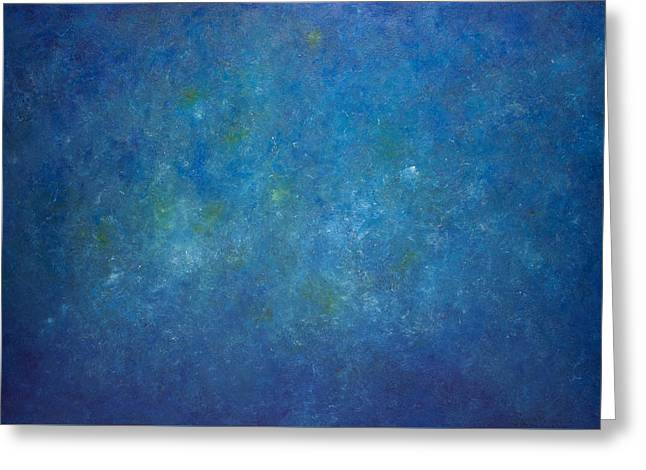 Derek Greeting Cards - Opt.51.14 Mr Blue Sky Greeting Card by Derek Kaplan