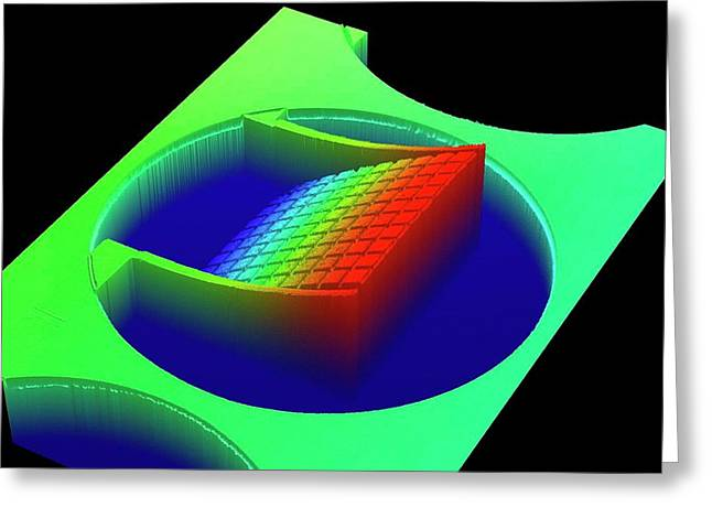 Optical Profiling Of Mems Metamaterial Greeting Card by Center For Nanophase Materials Sciences, Ornl
