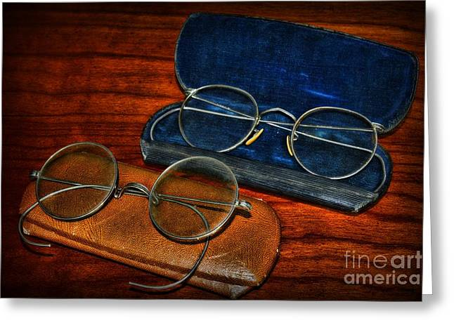 Vision Office Greeting Cards - Optometrist - Which Pair Greeting Card by Paul Ward
