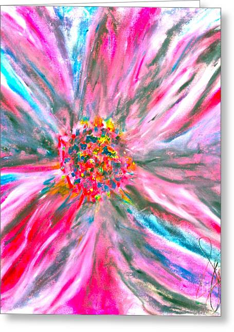 Beauty Pastels Greeting Cards - Opulence Greeting Card by Jamie Lawrence
