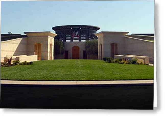 Napa Valley Greeting Cards - Opus One Winery Greeting Card by Jon Neidert