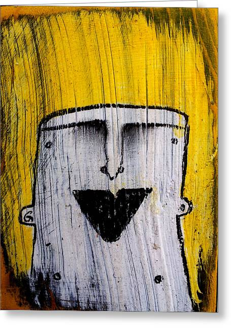 Emotions Mixed Media Greeting Cards - Or as Human As You Know It No 148 Greeting Card by Mark M  Mellon