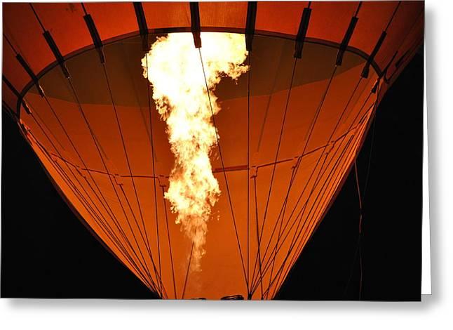 Ventura California Greeting Cards - Orange Burn Greeting Card by Ken Waters