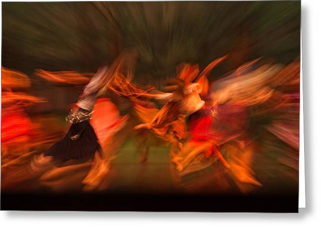 Ballet Dancers Greeting Cards - Passion in Motion Greeting Card by Jurgen Lorenzen