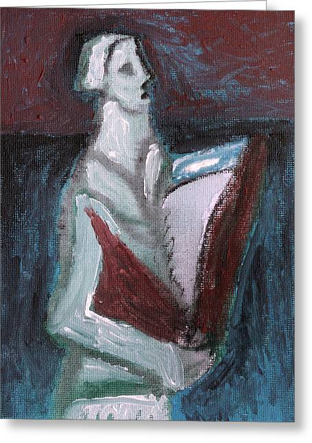 Orator Paintings Greeting Cards - Orator Greeting Card by Anon Artist