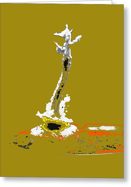 Orator Digital Art Greeting Cards - Orator in Matters of Our Time Greeting Card by Terrance DePietro