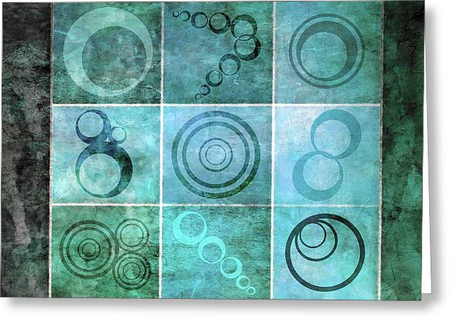 Orb Ensemble 1 Greeting Card by Angelina Vick