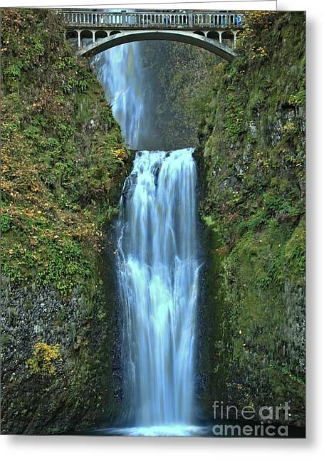 A River In Autumn Greeting Cards - Oregon Crown Jewel Greeting Card by Adam Jewell