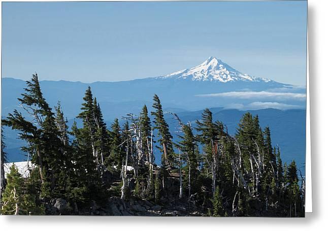 Oregon, Mount Hood Greeting Card by Matt Freedman