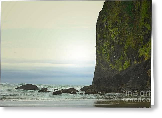 Haystack Framed Prints Greeting Cards - Oregon Rock Coast Greeting Card by Andrea Hazel Ihlefeld