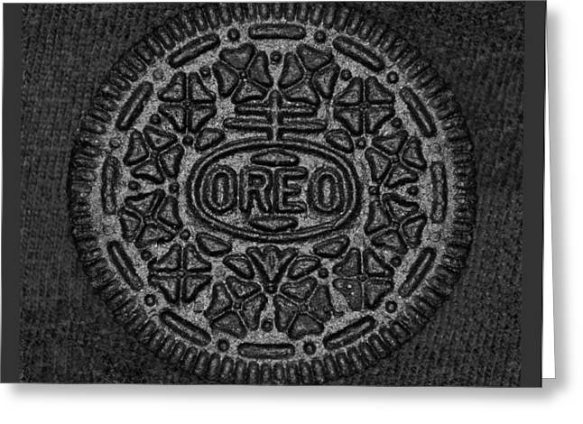 Oreo Greeting Cards - O R E O I I Greeting Card by Rob Hans