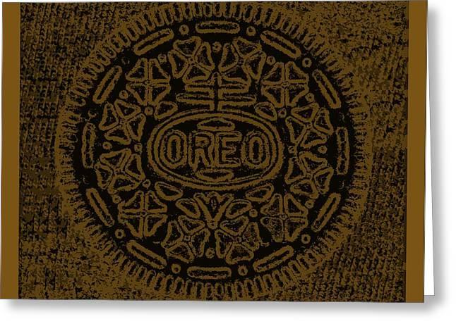 Oreo Greeting Cards - Oreo Hope Chocolate Greeting Card by Rob Hans