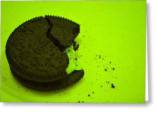 Oreo Photographs Greeting Cards - Oreo Project  Greeting Card by Addae Jordan