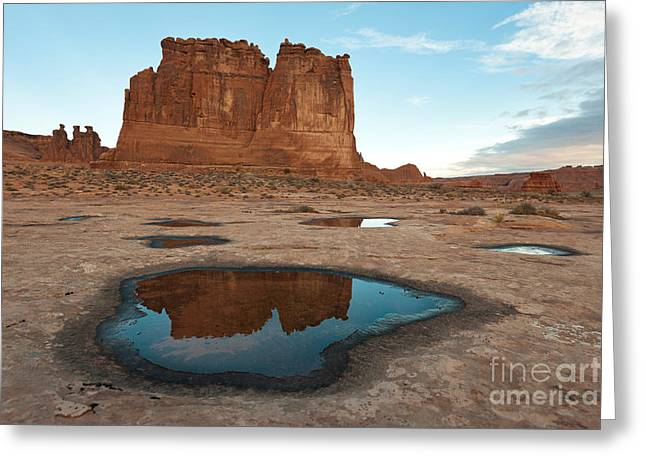 Slickrock Greeting Cards - Organ Formation, Arches National Park Greeting Card by John Shaw