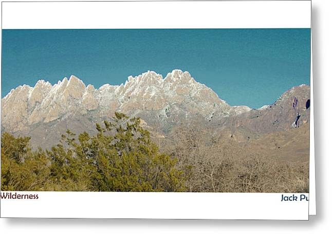 Las Cruces Photograph Greeting Cards - Organ Mountain Wilderness Greeting Card by Jack Pumphrey