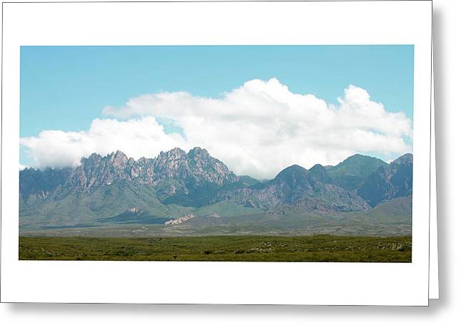 Las Cruces New Mexico Greeting Cards - Organ Mountains after the Monsoon Greeting Card by Jack Pumphrey