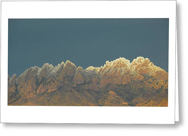 8 Mile Greeting Cards - Organ Snowy Mountains Greeting Card by Jack Pumphrey