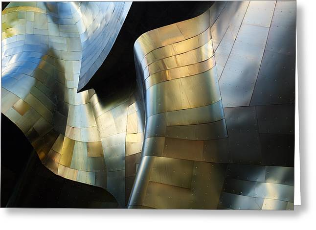 Organic Metal #3 Greeting Card by David Reams