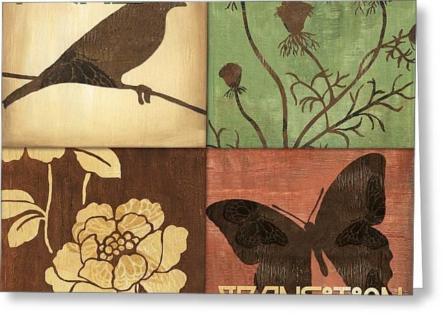 Organic Nature 1 Greeting Card by Debbie DeWitt