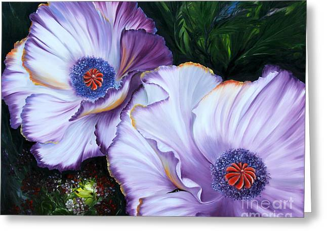Flower Still Life Prints Greeting Cards - Oriental Poppy Greeting Card by  ILONA ANITA TIGGES - GOETZE  ART and Photography