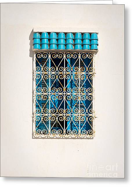 """roof Tile"" Greeting Cards - Oriental window Greeting Card by Delphimages Photo Creations"