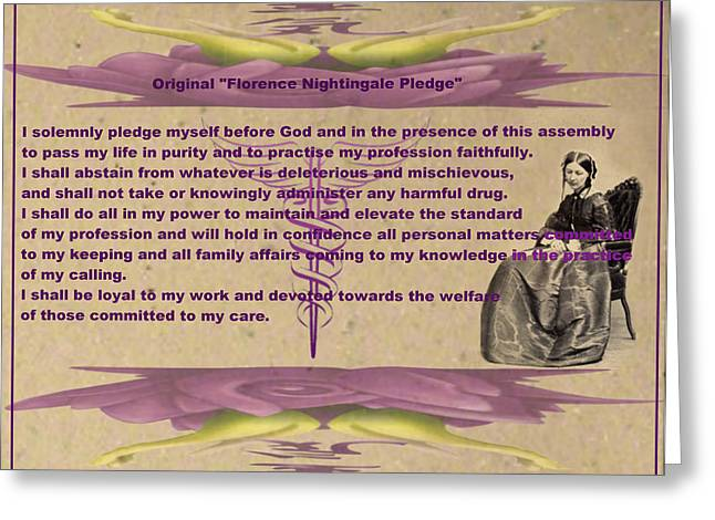 hippocratic oath and nightingale pledge The hippocratic oath, the nightingale pledge, masonic obligations and  rosicrucian rules by frater james a marples, viiº life member, nebraska  college.
