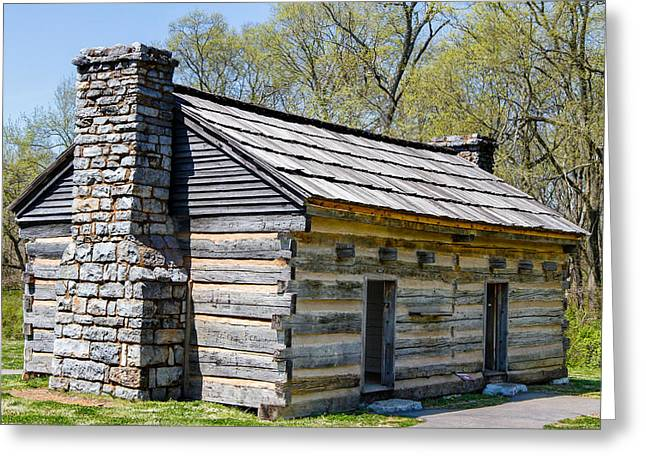 Home Of Andrew Jackson Greeting Cards - Original Hermitage 2 Greeting Card by Robert Hebert