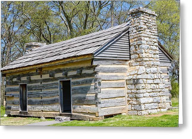 Home Of Andrew Jackson Greeting Cards - Original  Hermitage Greeting Card by Robert Hebert
