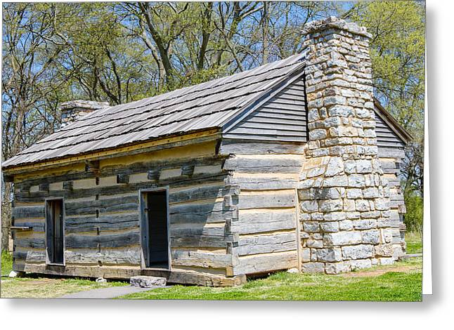Home Of Andrew Jackson Greeting Cards - Original Home Greeting Card by Robert Hebert