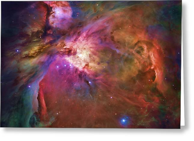 Constellations Digital Art Greeting Cards - Orion Nebula Greeting Card by Dale Jackson