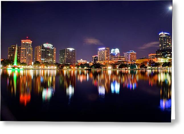 Orlando Florida Greeting Card by Frozen in Time Fine Art Photography