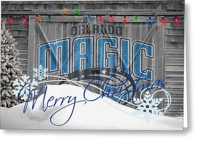 ORLANDO MAGIC Greeting Card by Joe Hamilton