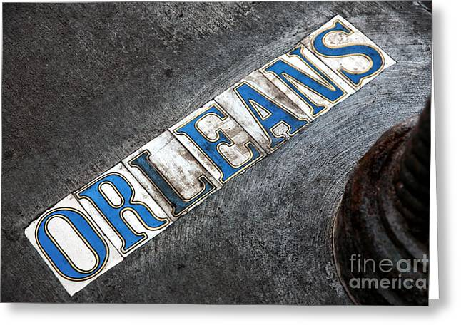 Orleans Greeting Card by John Rizzuto
