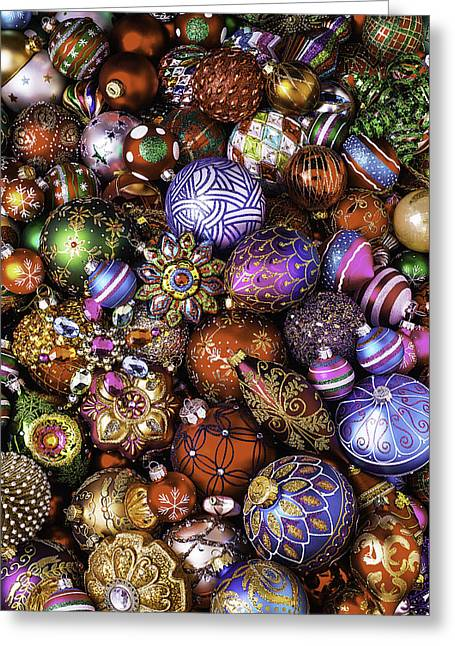 Wonderful Photographs Greeting Cards - Ornament Collection Greeting Card by Garry Gay