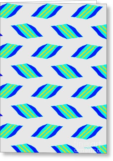 Most Sold Digital Art Mixed Media Greeting Cards - Ornament VI Greeting Card by Tatjana Popovska