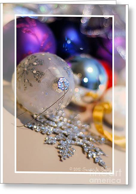 Susan M. Smith Greeting Cards - Ornaments - Blank Greeting Card by Susan Smith