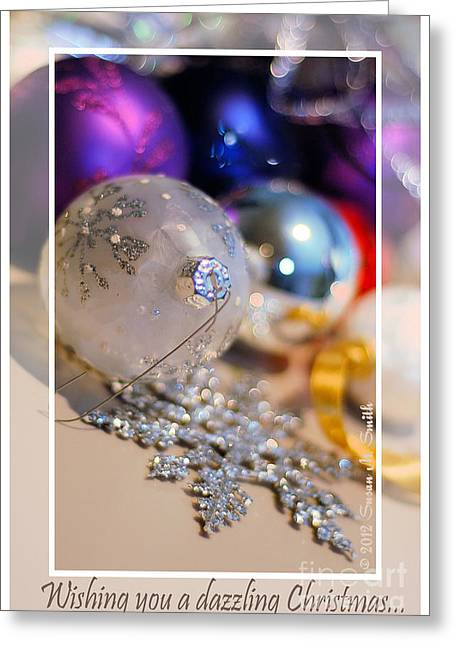 Susan M. Smith Greeting Cards - Ornaments - Wishing You Greeting Card by Susan Smith