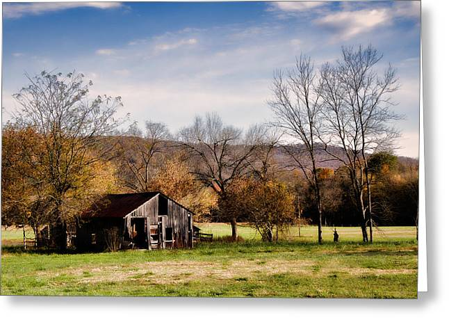 Arkansas Greeting Cards - Orphea Old House Greeting Card by Lana Trussell