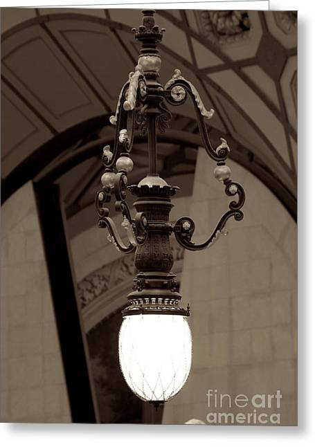 A. Paré Greeting Cards - Orsay Light Greeting Card by Donato Iannuzzi