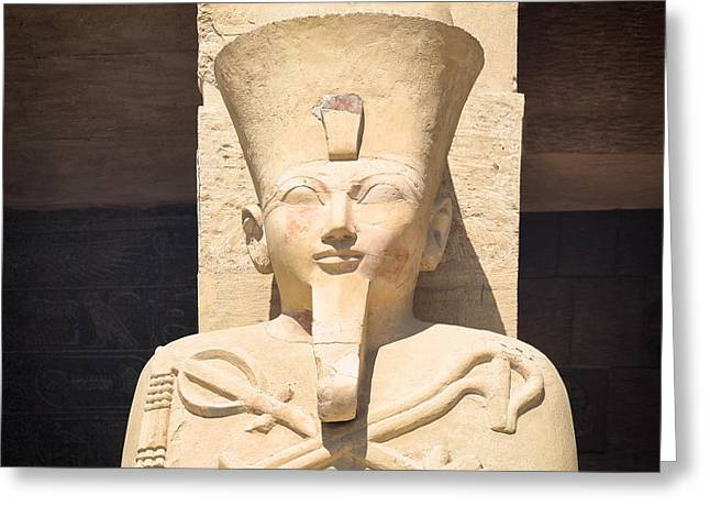Hathor Greeting Cards - Osiris.. Greeting Card by A Rey